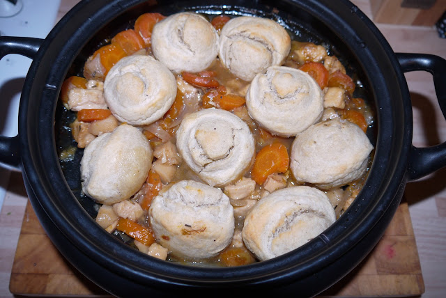 stew, slow cooker, veggie