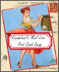Kandeland's 'Mail Love' Post Card Swap