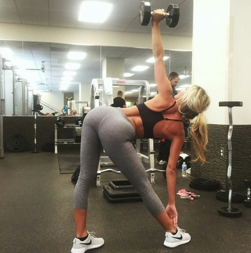Working out with good form is the key