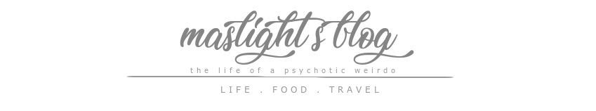 the life of a psychotic weirdo: MASLIGHT'S BLOG
