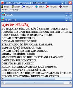 Türkçe İngilizce Çeviri programı