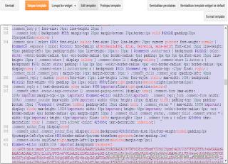 Cara Membuat Tampilan Blog Menjadi Blank atau Kosong edit html blogger jonarendra