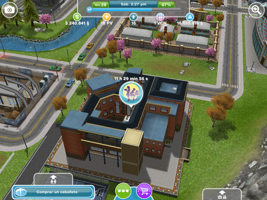 The sims freeplay misiones lugares de trabajo en ciudad sim for Casa de diseno sims freeplay