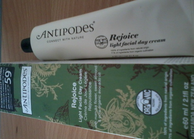Review Antipodes Rejoice Facial Day Cream