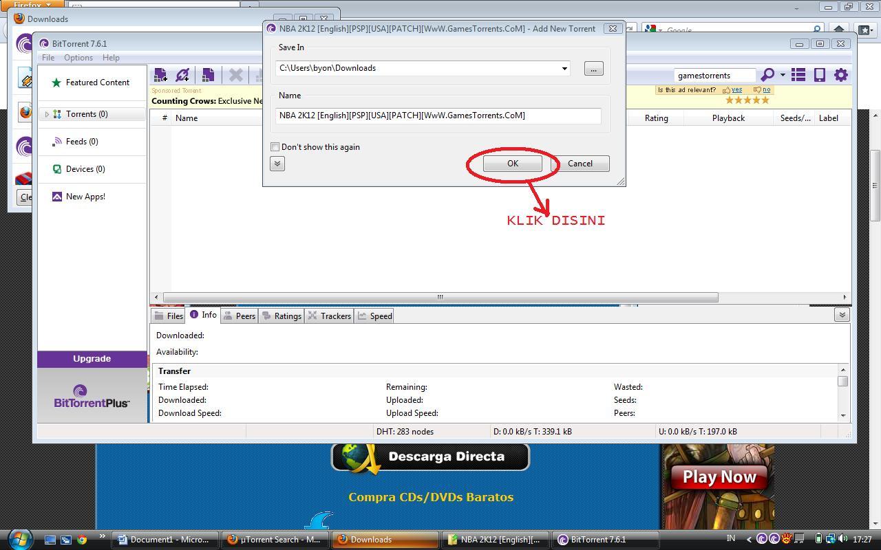 Cara Download Game Psp Di Bittorrent
