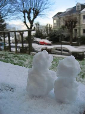 第一場門前雪@Plymouth