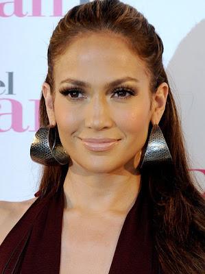 Jennifer Lopez Sterling Hoop Earrings