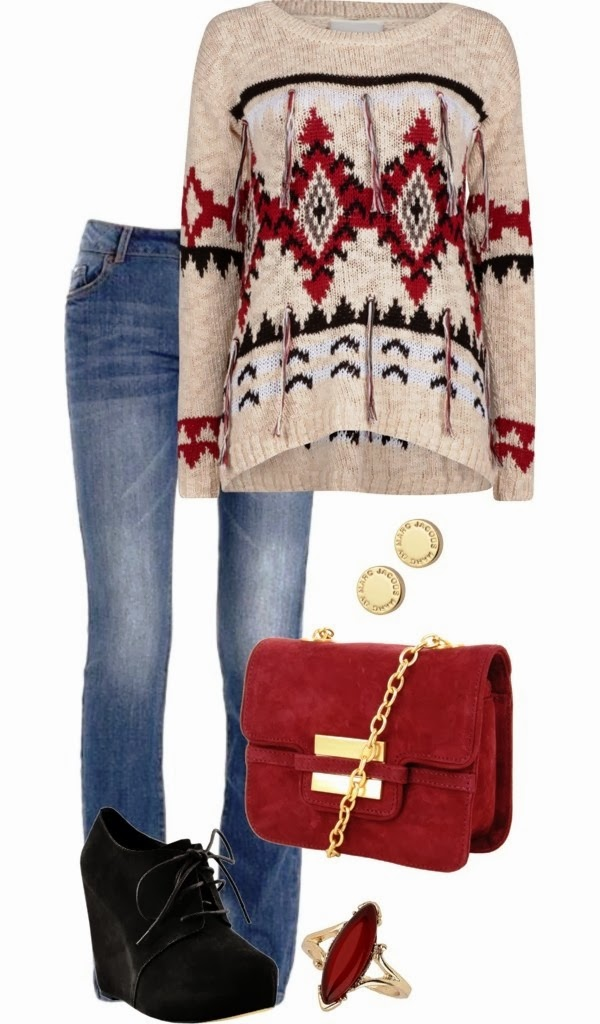 Beautiful winter outfits with sweater