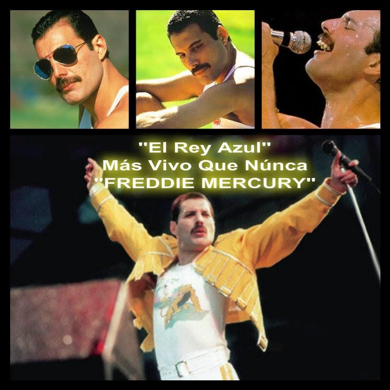 """""""El ReyAzul Freddie Mercury"""""""