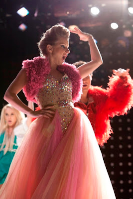 "Brittany's Sherri Hill Prom Dress 21103 Glee Season 4, Episode 13: ""Diva"""