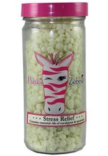 Pink Zebra Stress Relief Sprinkles image