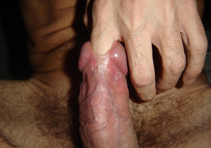 finger in his cock