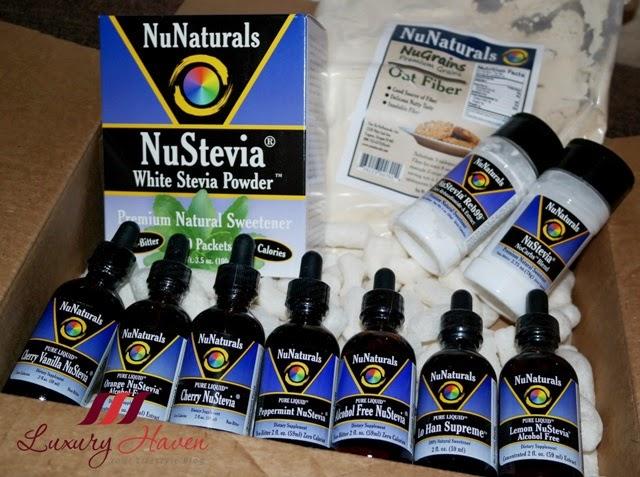 nunaturals stevia giveaway