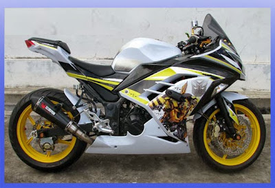 Modifikasi Ninja 250R FI ABS Sporty