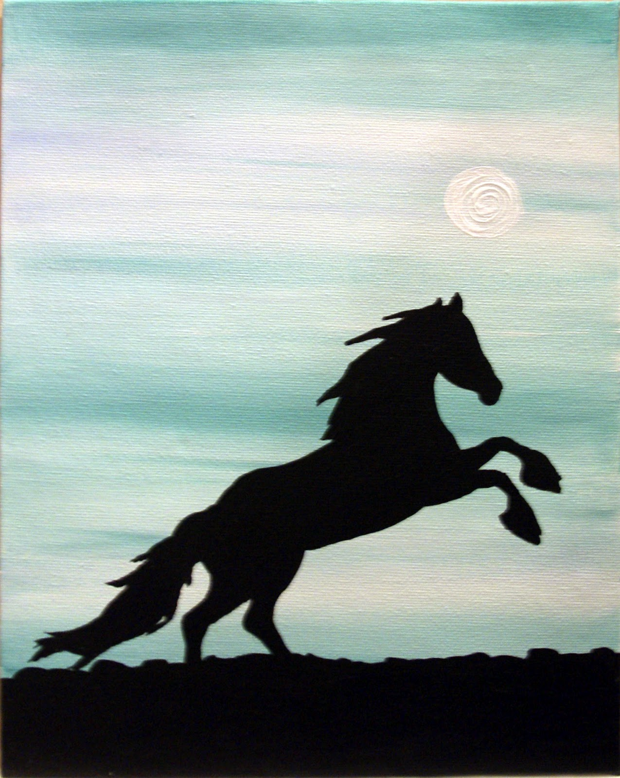 33   Cool Silhouette Painting Of for Silhouette Painting Of Animals  183qdu