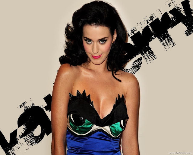 Katy Perry Pop Singer Star Glamorous Wallpaper