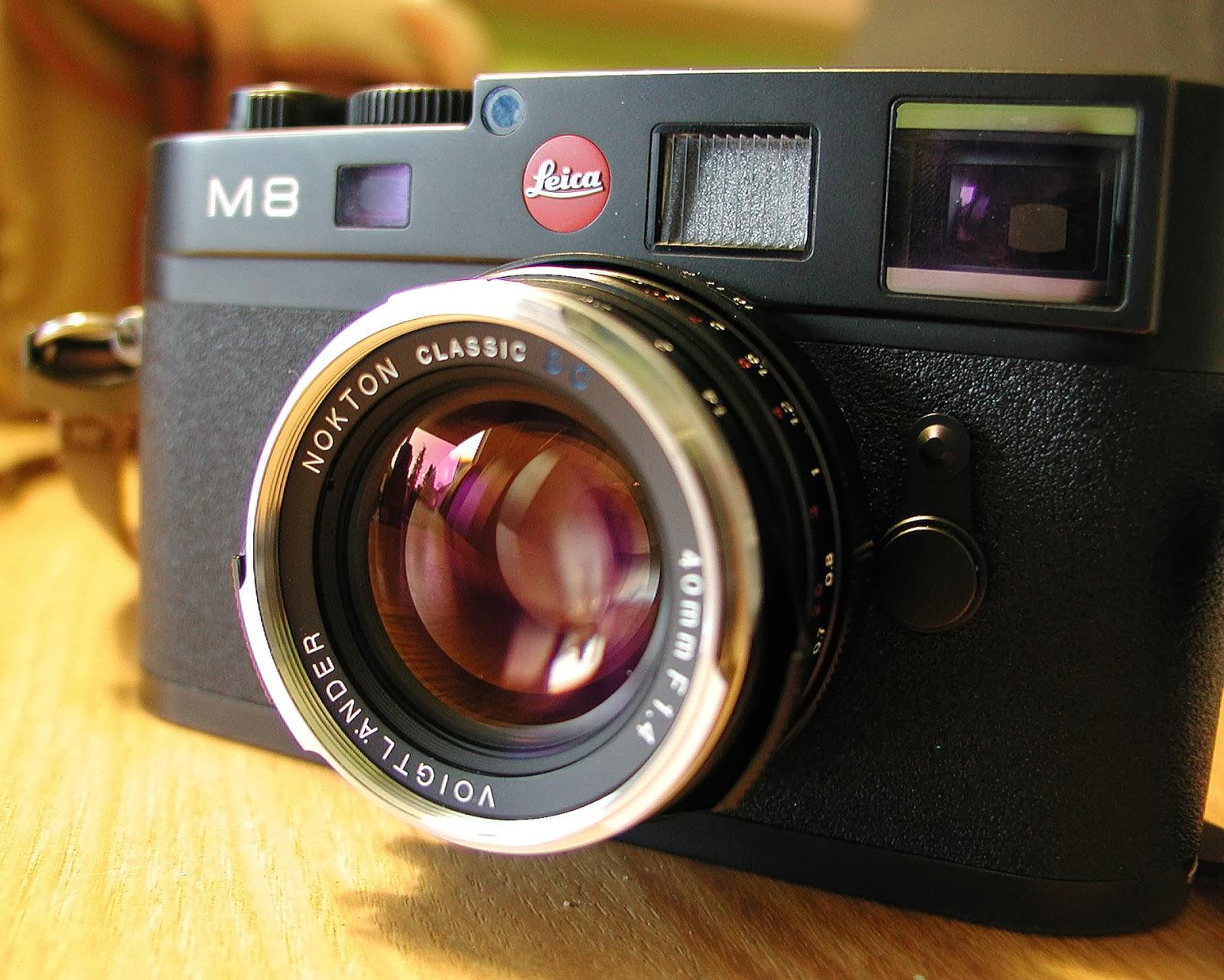Nokton 40mm on Leica M8