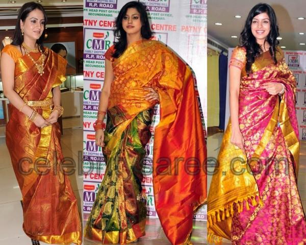 South Indian Bridal Sarees Saree Blouse Patterns