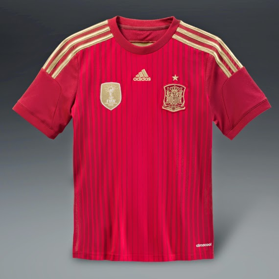 SPAIN JERSEY WORLD CUP 2014 GRED AAA