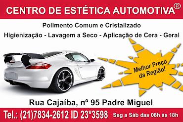 CENTRO DE ESTÉTICA AUTOMOTIVA
