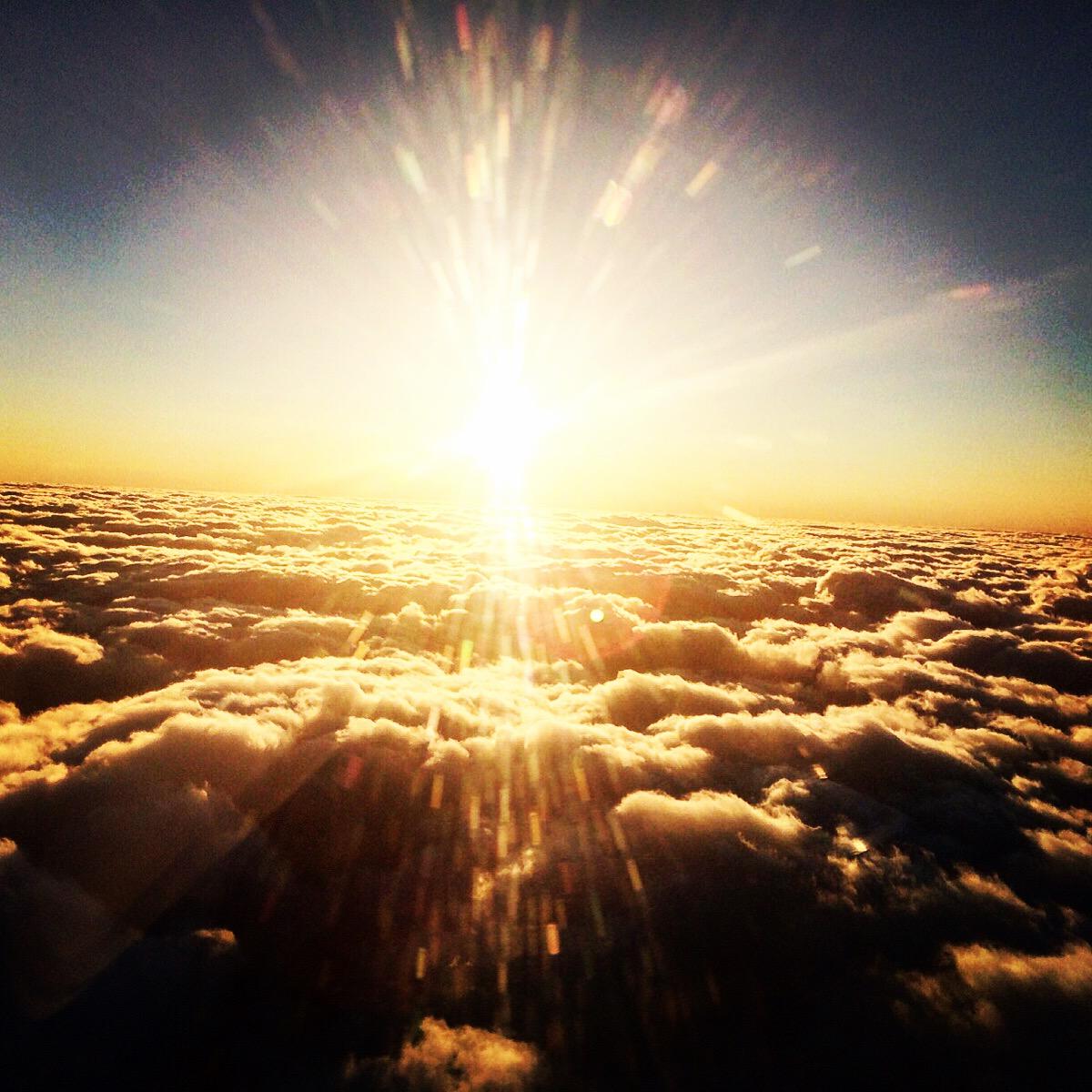 Über den Wolken…..