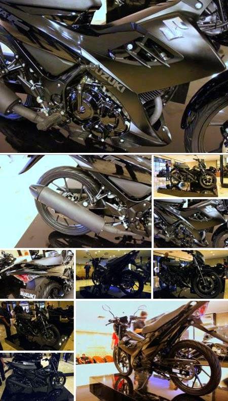 Satria F150 Black Edition