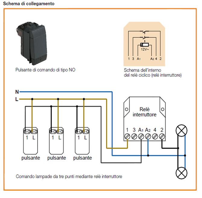 Schema Elettrico Per Un Appartamento : Schema elettrico per punti luce problema accensione