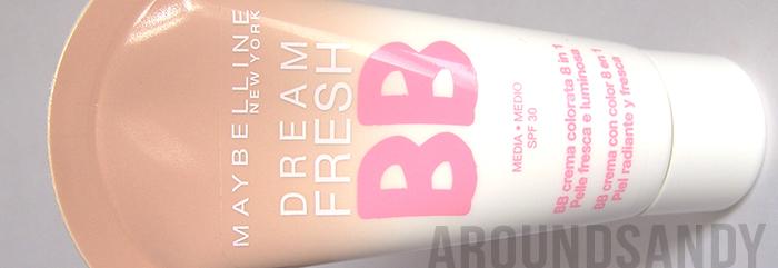 Maybelline BB cream dream fresh swatches review opinión donde comprar