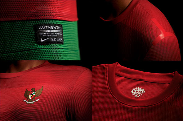 Jersey Indonesia Home 2013 - 2014