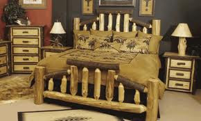 amish rustic log furniture