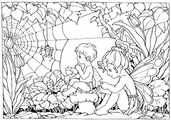 Fairy Coloring Pages for Adults to Print