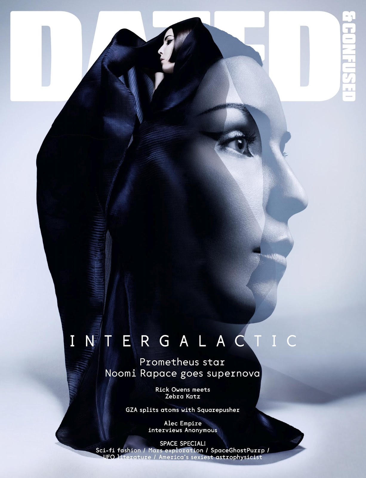 Dazed & Confused June 2012: Noomi Rapace by Solve Sundsbo