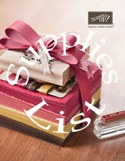 Supplies List for 2012-2013 Idea Book and Catalog