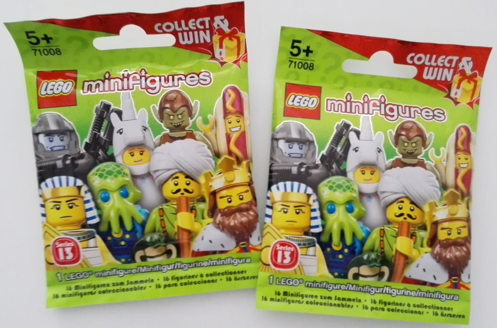 Hobby Cards Europe: LEGO - minifigures Series 13