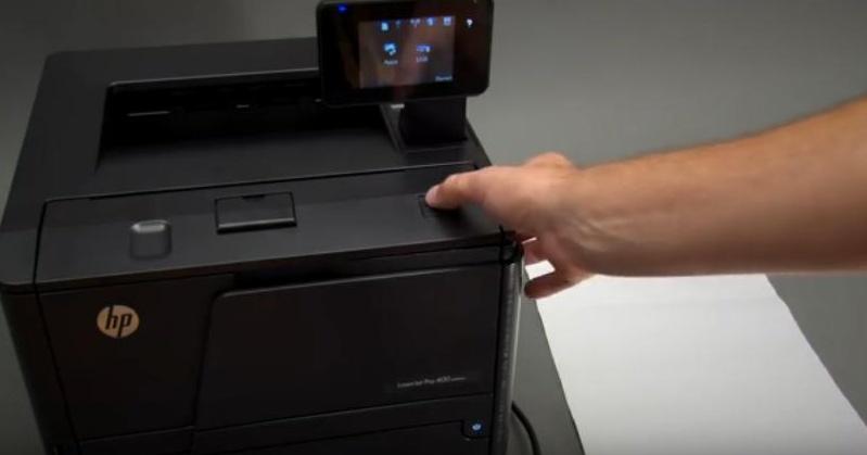 hp laserjet p2055dn how to change cartridge