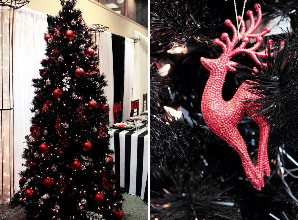 Christmas decoration ideas for black christmas trees