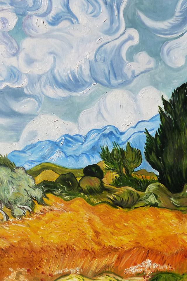 Un Van Gogh dans mon iPhone | Louise Grenadine - blog lifestyle à Lyon