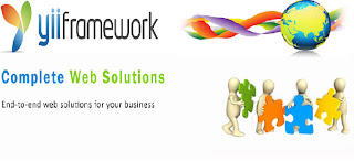 yii framework, yii web development company, yii php web application