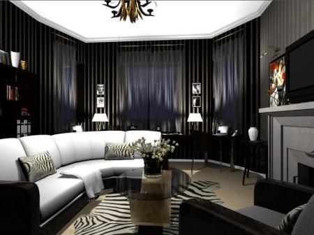 vintage home: salas y salones con muebles y diseño italiano - Muebles Salon Diseno Italiano