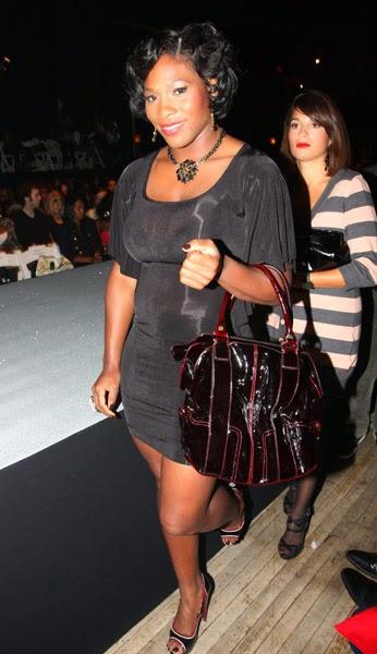 Serena Williams wearing Jenny Dayco jewelry