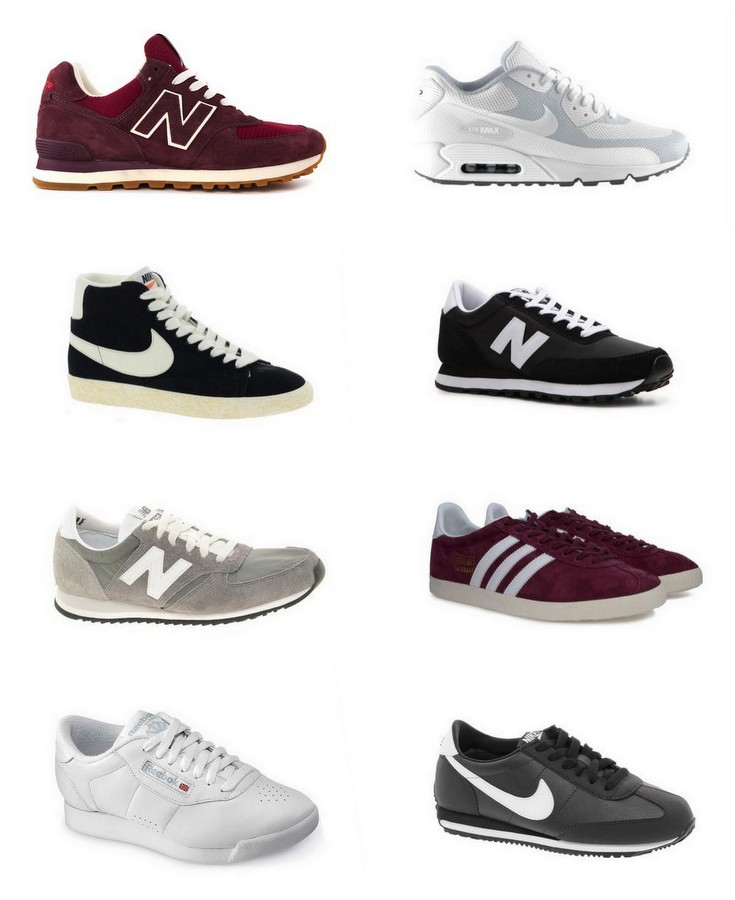 new balance vs nike sneakers