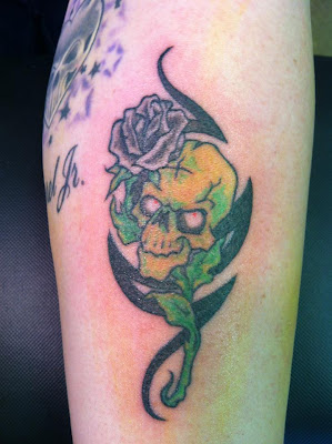 Black Rose Tattoo Designs
