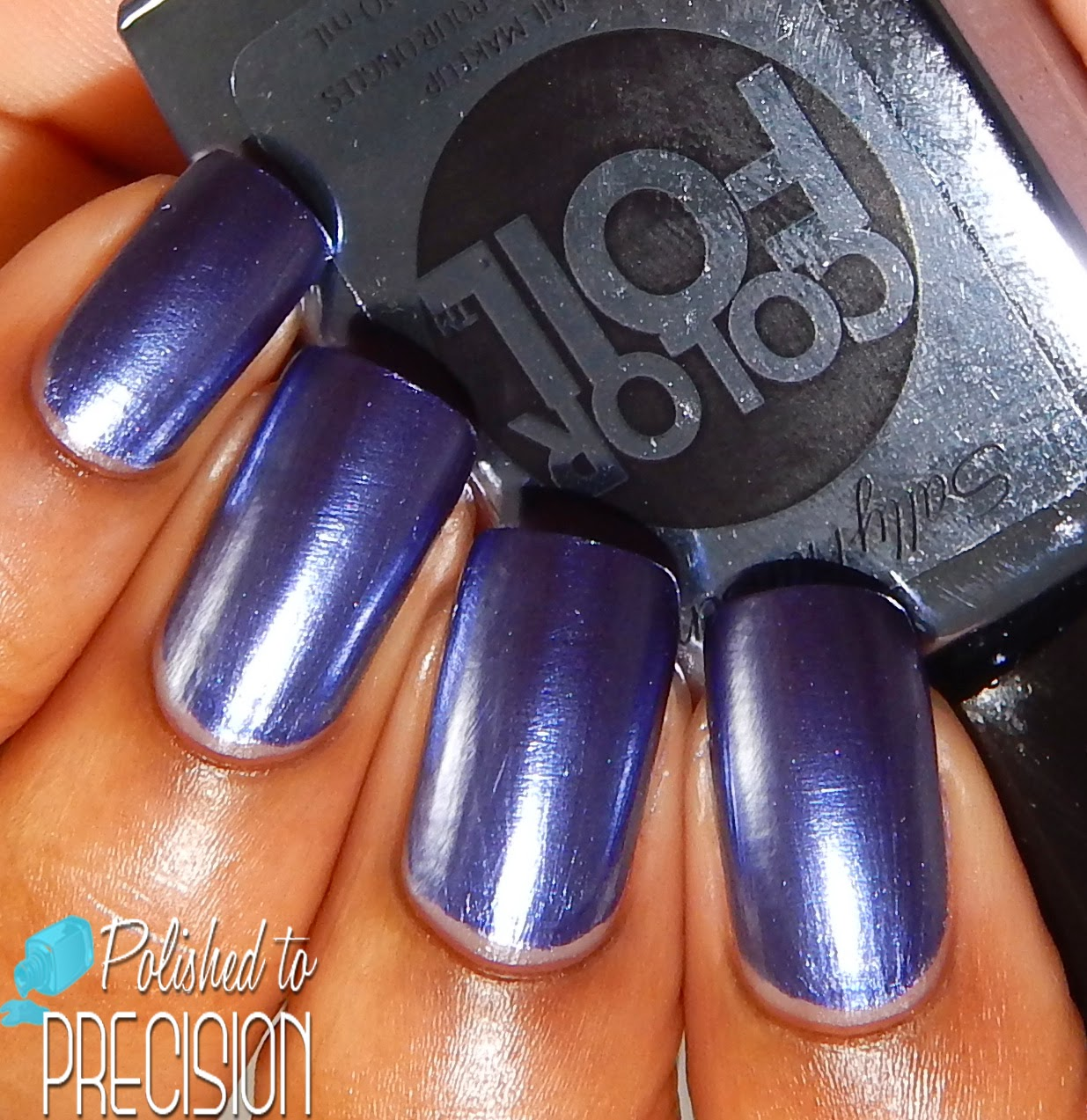 Sally Hansen ColorFoil Leaden Lilac