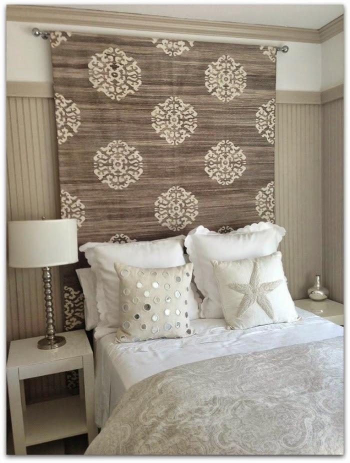 En casa de oly 15 ideas decorativas y diy para tu dormitorio - Ideas para hacer cabeceros de cama ...