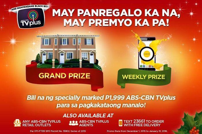 ABS-CBN TVplus Todo Pamasko Promo!
