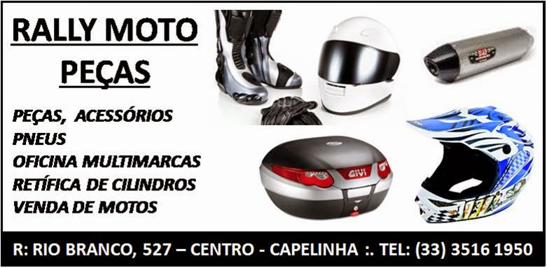 Rally Moto Peças