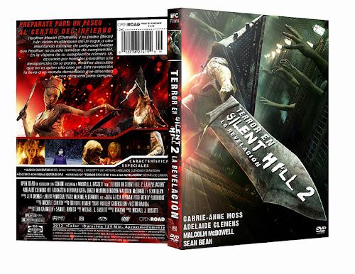 Silent Hill 2 Revelación DVD Full Español Latino 2012