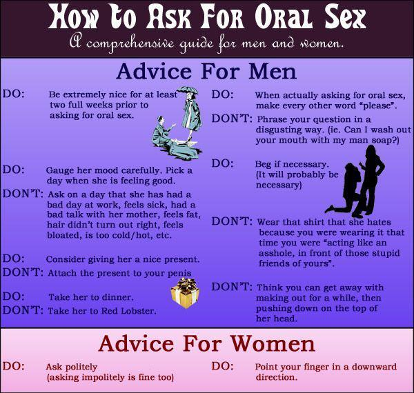 How To Ask For Oral S**