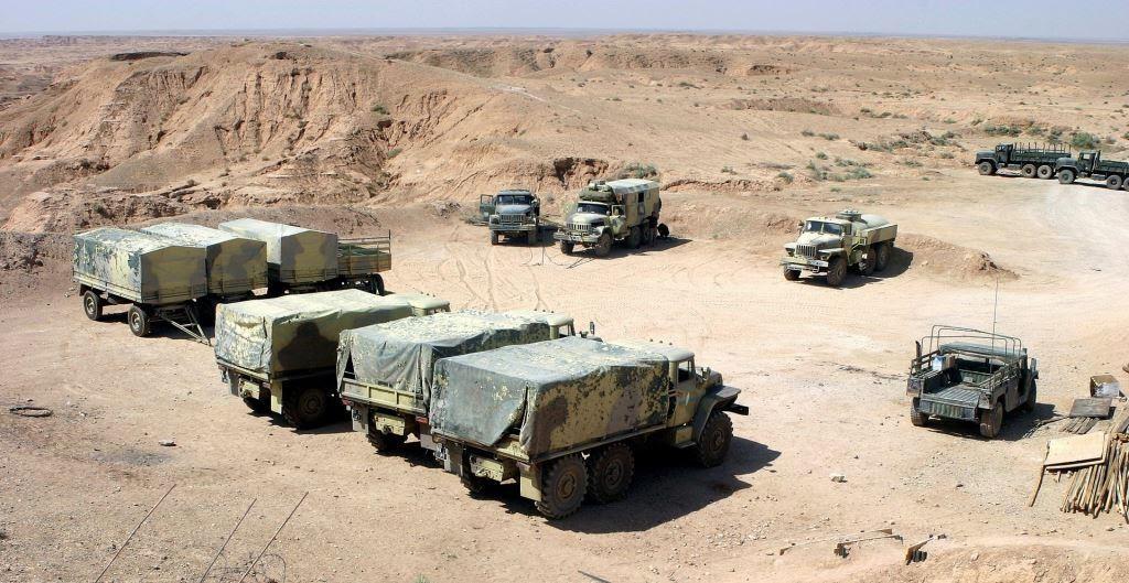 Ірак, техніка на стоянці