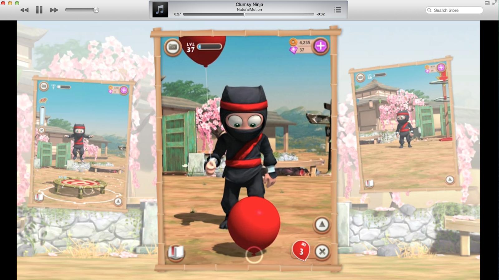 Clumsy Ninja Full Apk resimi 12
